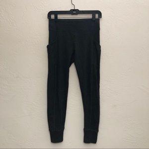 Dark Gray Calvin Klein Performance Leggings